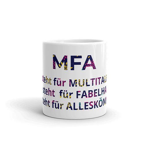 MFA Geschenktasse Multitalent
