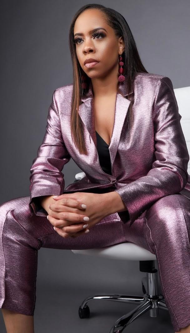 Jamila Parham business photo shoot
