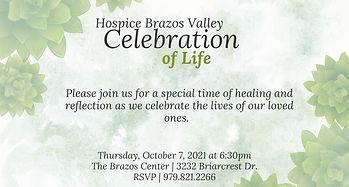 Celebration of Life Invitation - Waterco