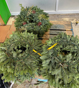 3 wreaths