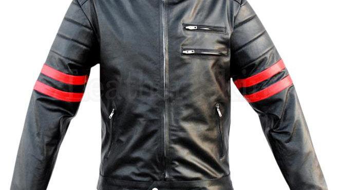 Von Base Enterprises Genuine Leather Jacket