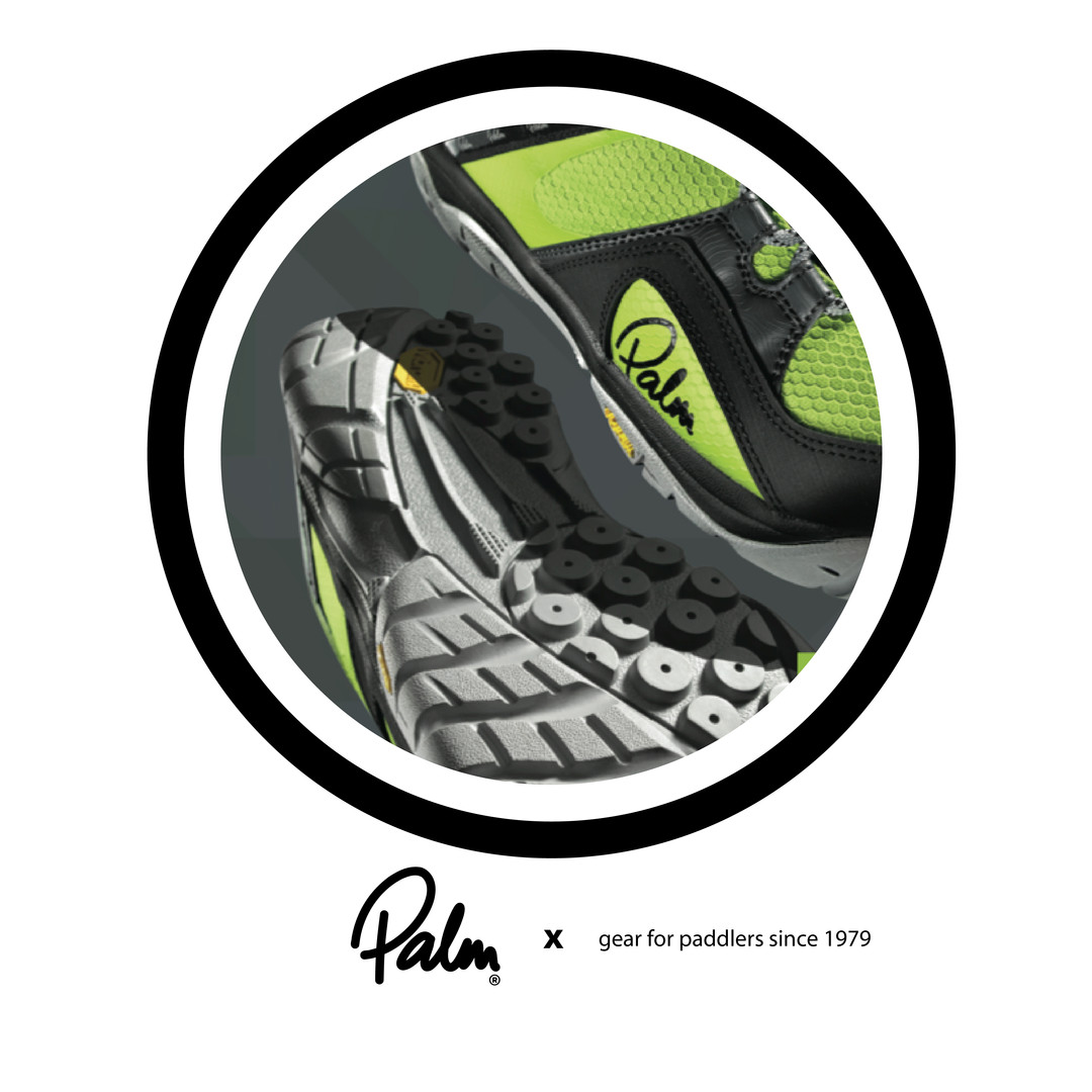 Palm Equipment:  Vibram Water performance collection