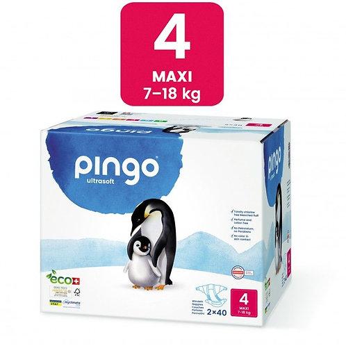 Pañales Ecológicos PINGO Talla  MAXI - Caja de 2X40