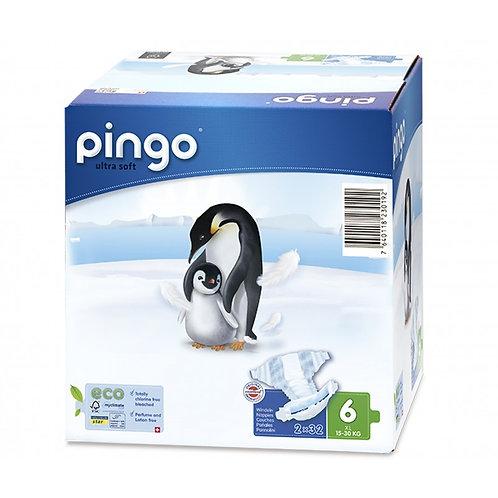 Pañales Ecológicos PINGO Talla 6 XL - Caja de 2X32