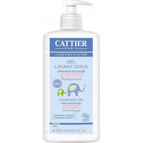 Gel baño bebe cabello/cuerpo 500 ml