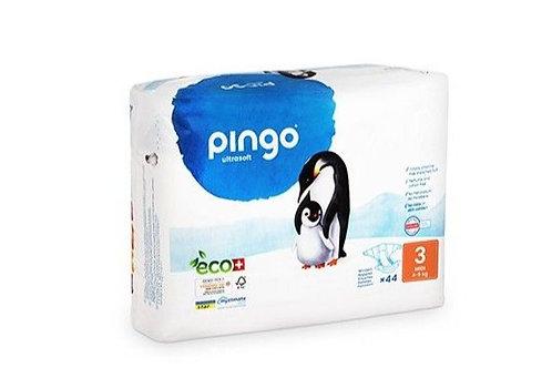 Pañales Ecológicos PINGO Talla 3 MIDI - Paquete de 44