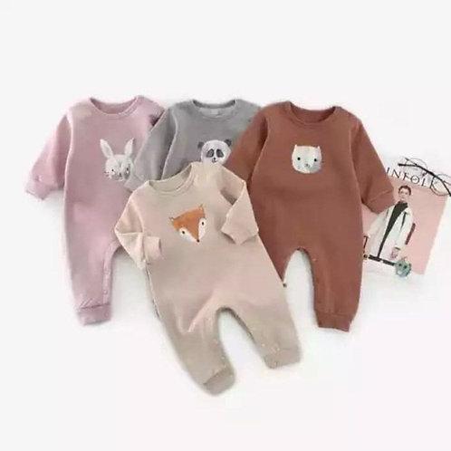 Pelele Animal Grafico para Bebe