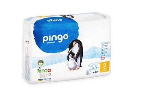 Pañales Ecológicos PINGO Talla 2 MINI - Paquete de 42