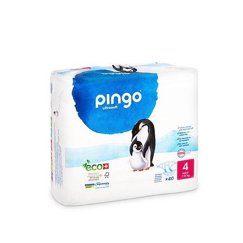 Pañales Ecológicos PINGO Talla 4 MAXI - Paquete de 40