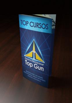 Folder Colégio Top Gun