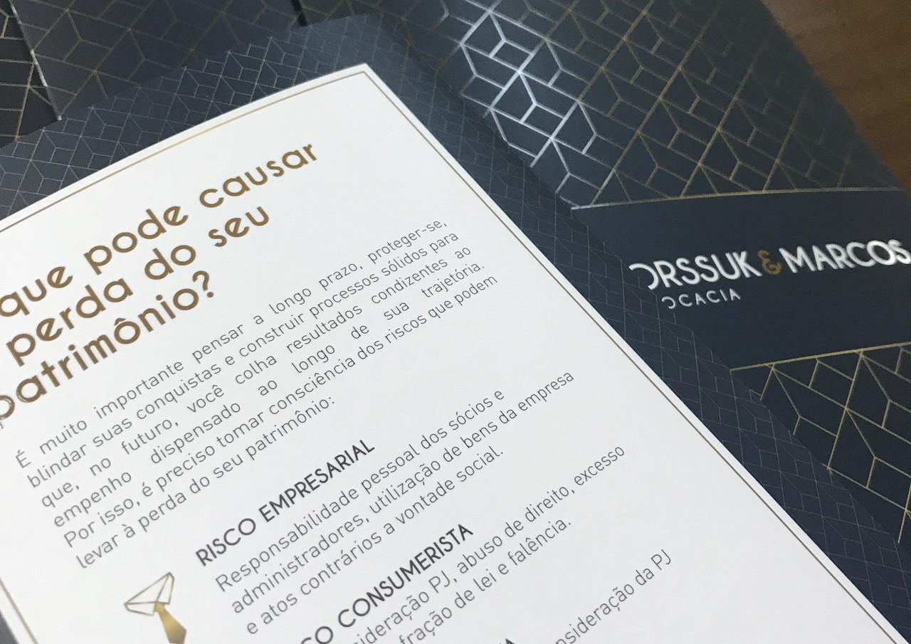 Folder Borssuk & Marcos Advocacia