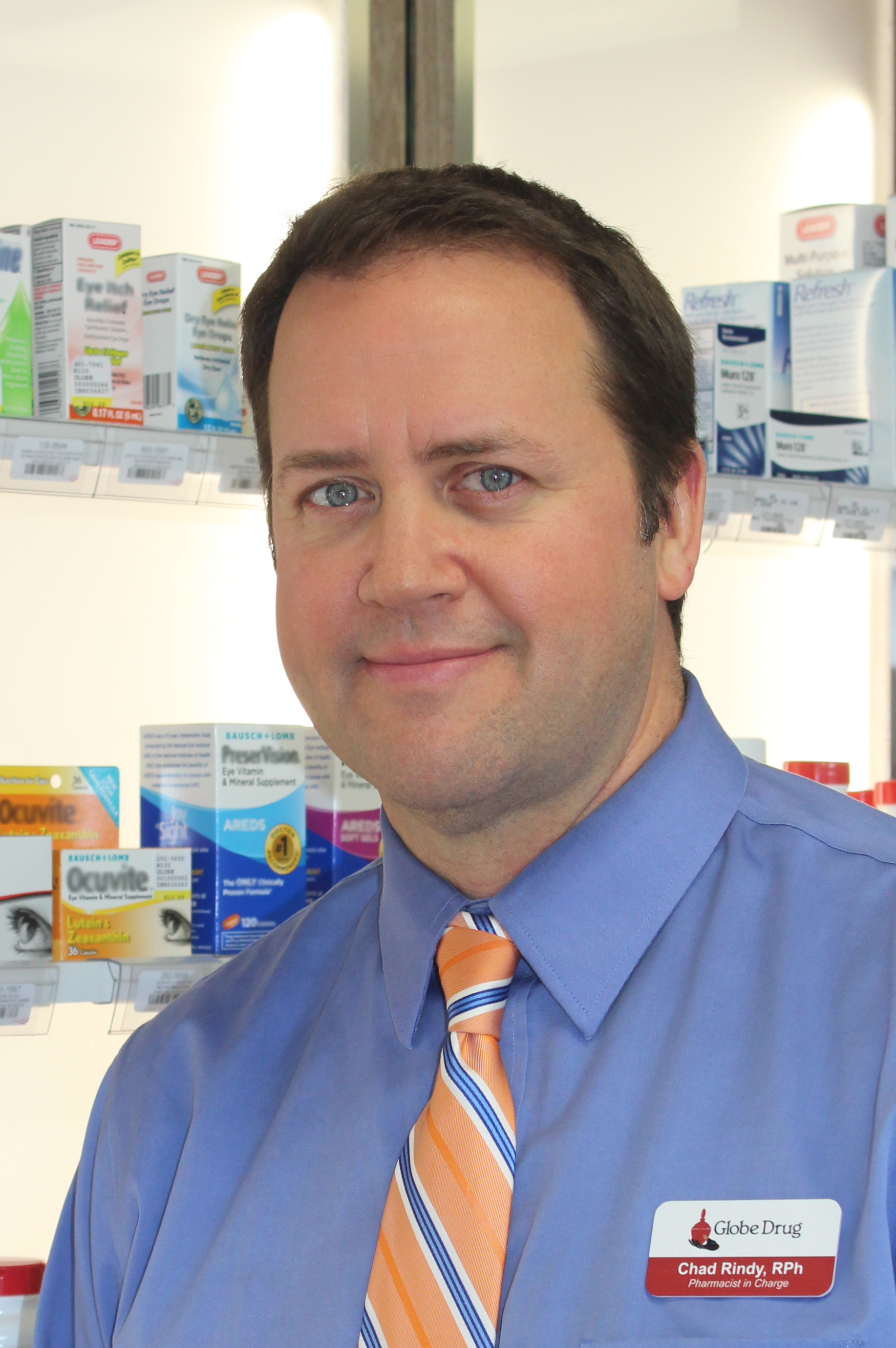 Globe Drug Pharmacist Headshot