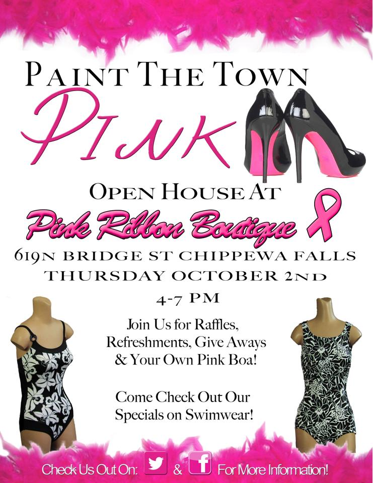 Pink Ribbon Boutique Print Ad