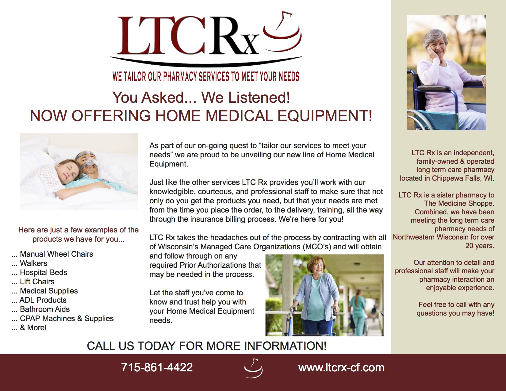 LTC Rx Promotional Flyer
