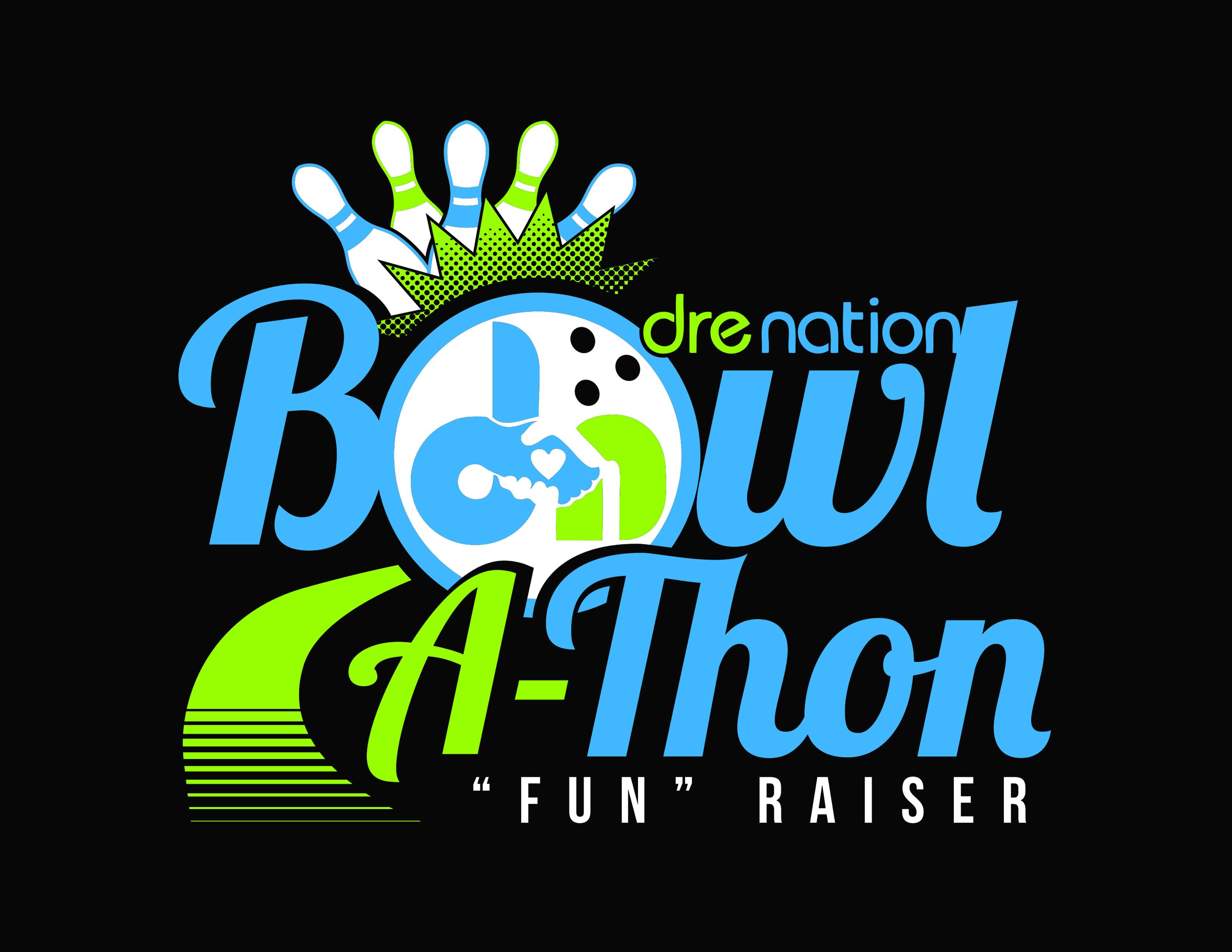 Dre Nation Bowl-a-Thon Logo