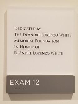 DLW Exam Room Dedication 3