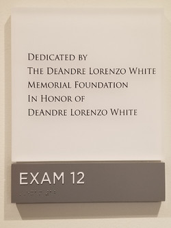 DLW Exam Room Dedication 1