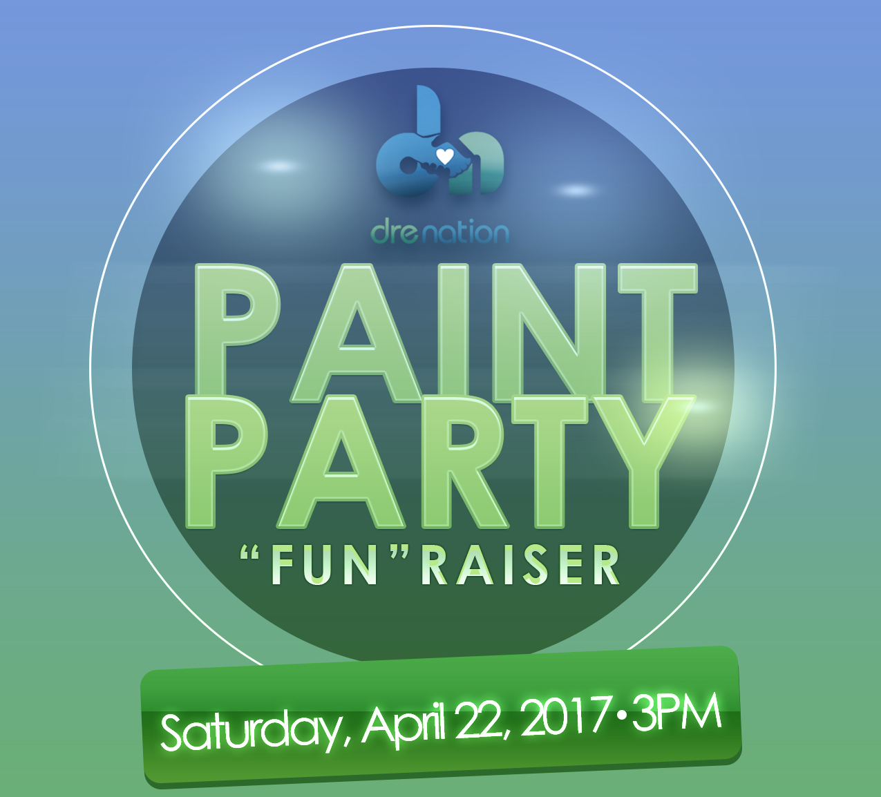 DLWMSF 2017 Paint Party Fundraiser logo