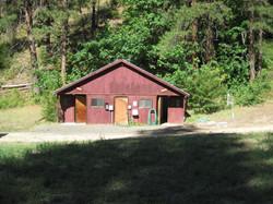 Barn Canyon bathhouse