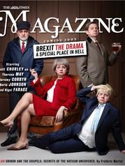 Saturday Times Magazine Cover
