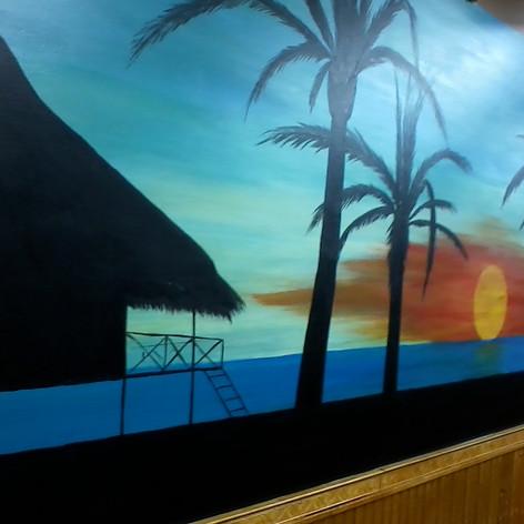 Resturant Mural 3-3
