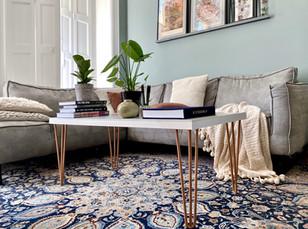 DIY - Marble coffee table / Marmeren salon tafel