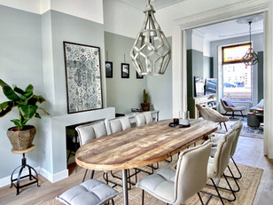 Oude elementen in een modern huis; hoe doe je dat?