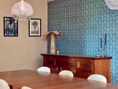 Dutch Wallcoverings in ons Spaanse landhuis - de eetkamer makeover