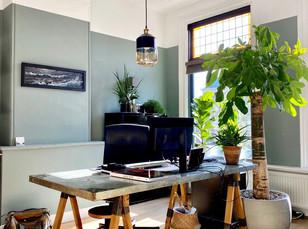 The paint colour in my home / de verf kleuren in mijn huis