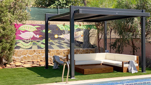 From drab to fab: a Valencian street art inspired pool deck