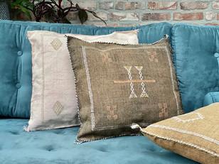 Moroccan vegan cactus cushions!