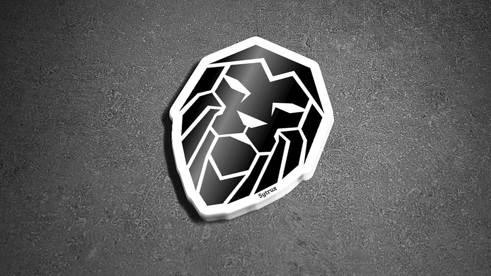 Sytrux Sticker Black & White