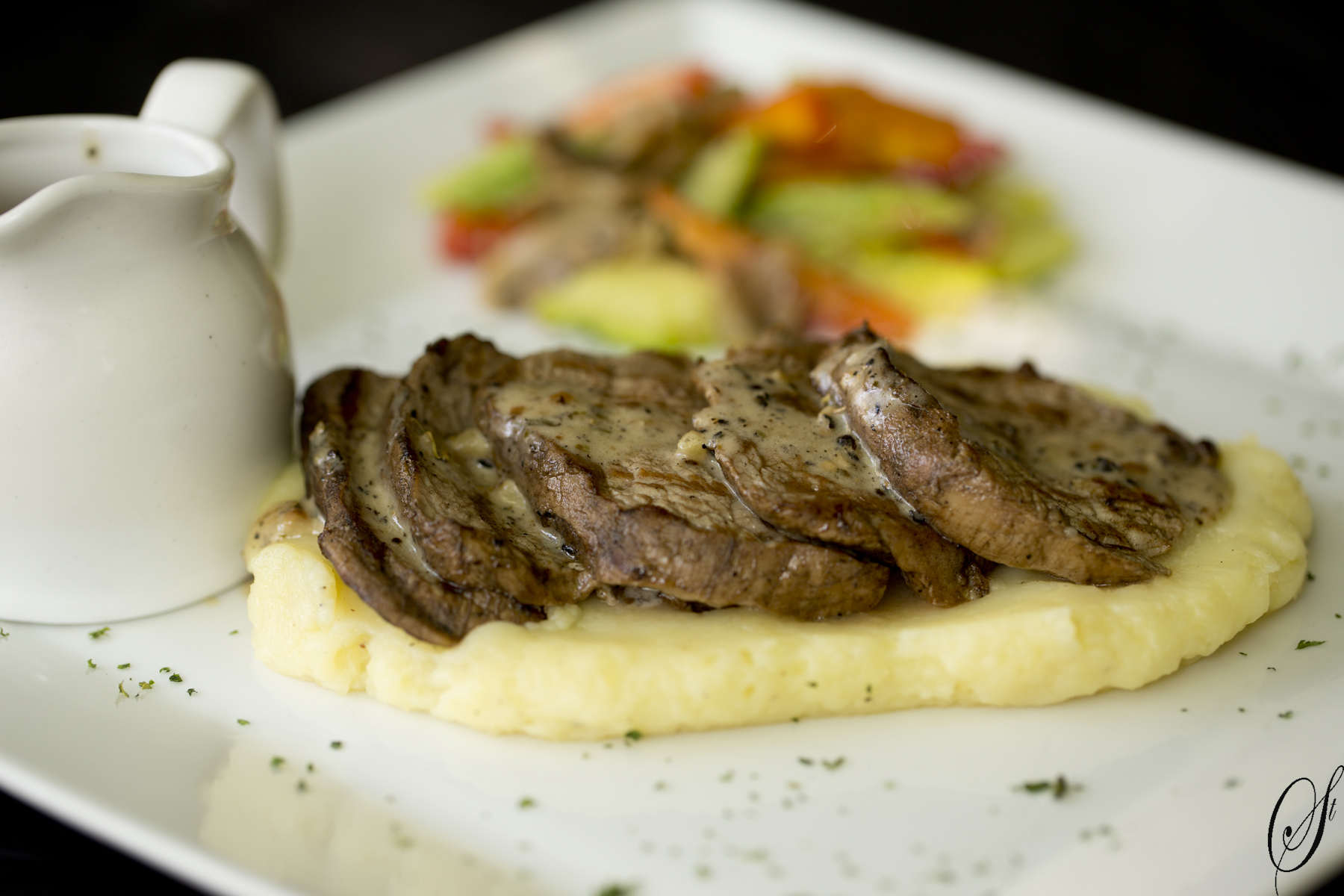 Pepper Beef Steak