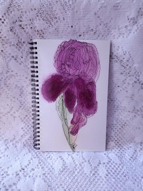 Notebook - Purple Iris