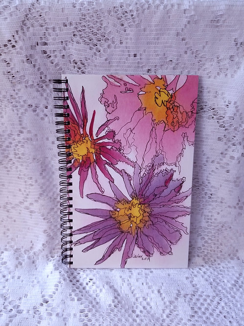Notebook - Painted Daisies