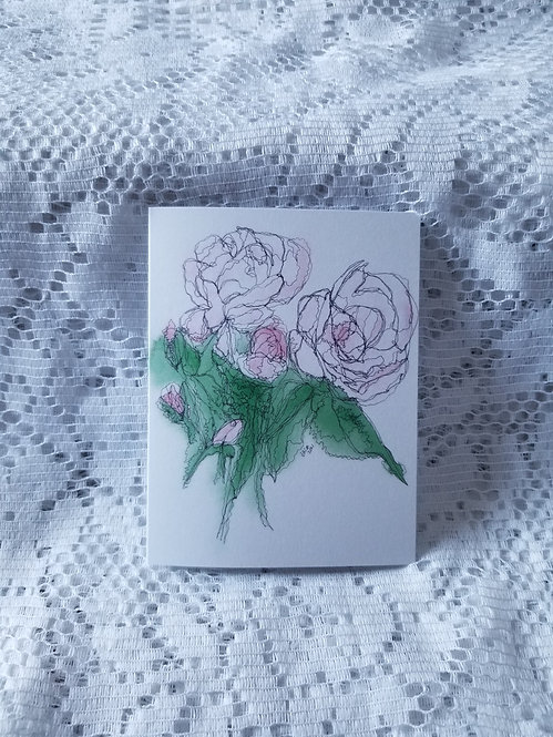 Rosa New Dawn Small Cards
