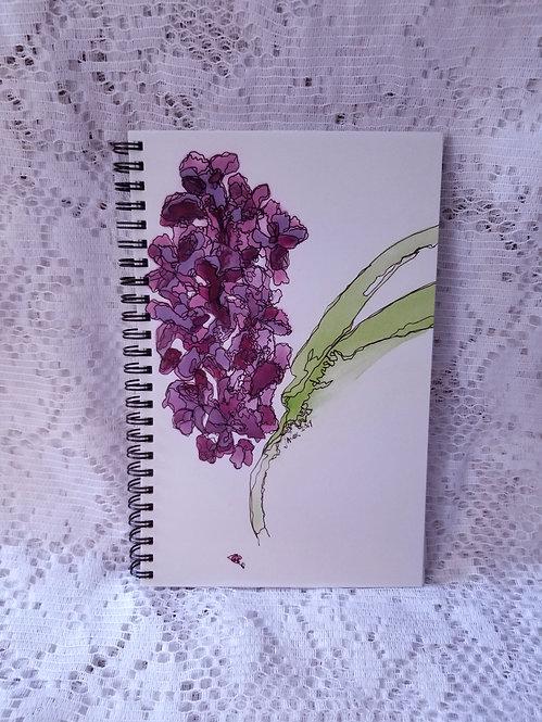 Notebook - Dark Lilac