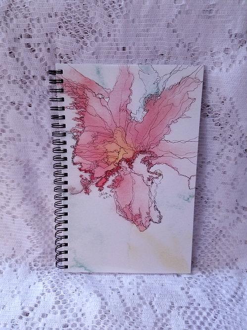Notebook - Orange Lily