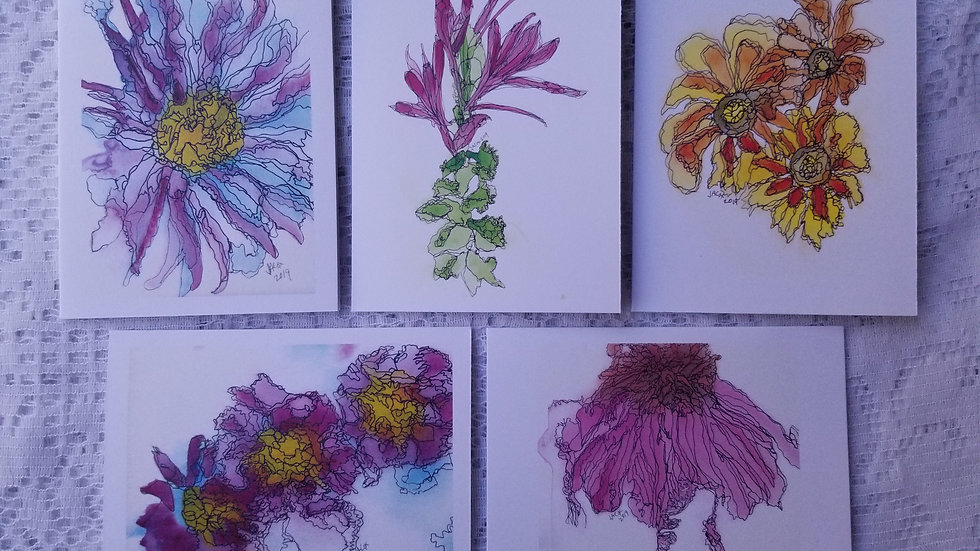 """Summer to Autumn Collection (4"""" x 5 1/2"""")"""