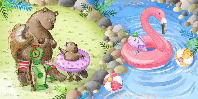 Samantha Marando - The bear that couldn'