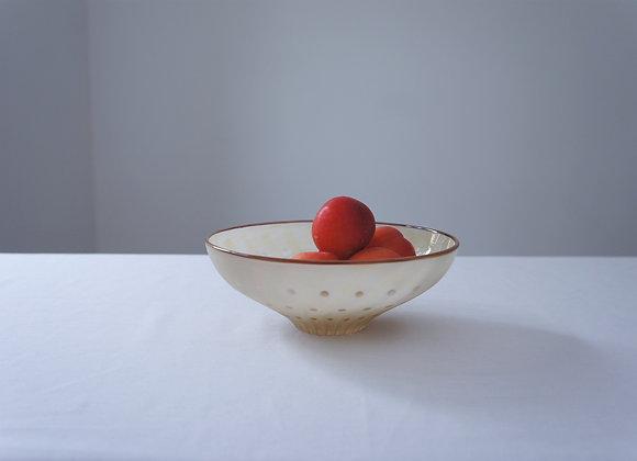佐々木俊仁 時の花 鉢 ベージュ