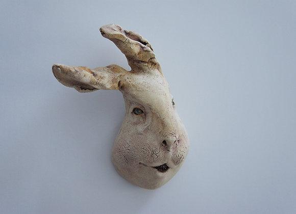 渡邊亜紗子 小面「妖-zoo」ウサギ3