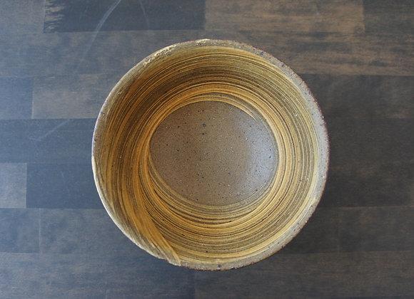 財満晋平 黄色い刷毛目の鉢4