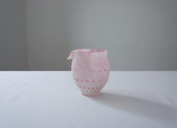 佐々木俊仁 時の花片口 ピンク