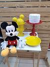 Decoração de maternidade com tema do Mickey