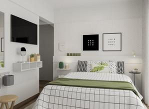 Cinco dicas para mobiliar e organizar quartos pequenos