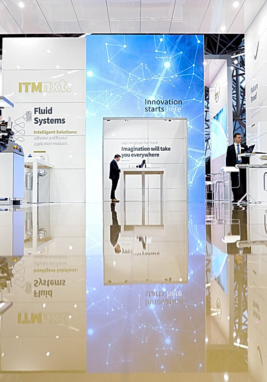 exhibition stand design ITM