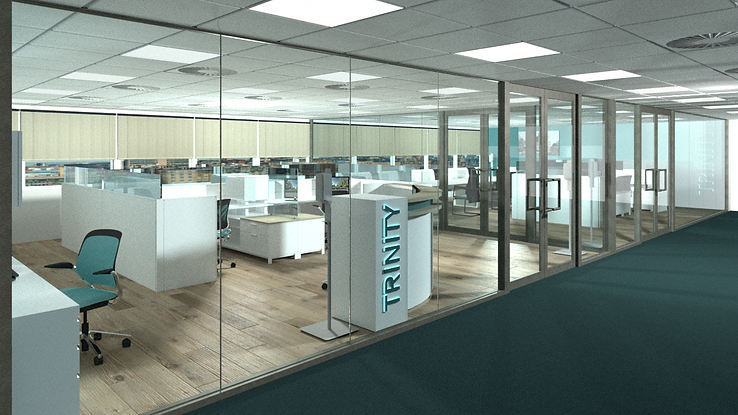 3D CAD drawing office