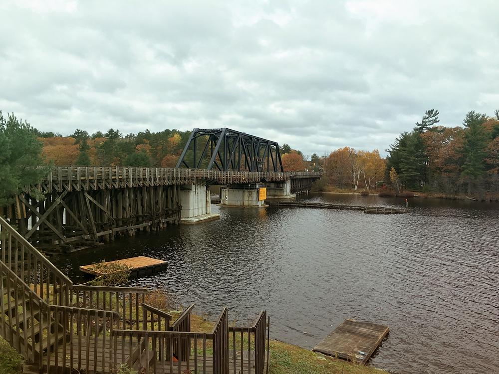 Wasauksing Swing Bridge