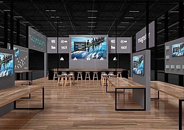 exhibition stand design 3Dx